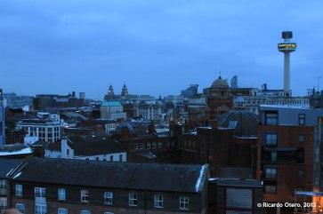 Liverpool en el amanecer