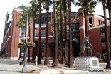 Willie Mays resguarda al AT&T Park, la casa de los Gigantes de San Francisco, campeones de la MLB