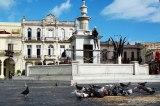 La Plaza Vieja en el corazón mismo de La Habana