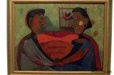 Presencia mexicana: Los Amantes, de Rufino Tamayo