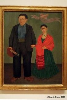Retrato de Frida y Diego