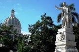 Estatua de José Martí en el Parque Central
