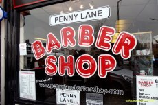 Penny Lane Barber Shop, la de la canción