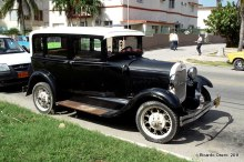La mayor parte del parque vehicular en La Habana con modelos anteriores a 1980.