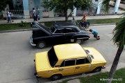 Vista cotidiana en La Habana