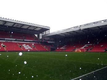 El interior de Anfield