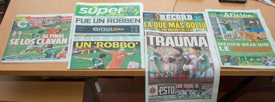 Periódicos del 30 de junio de 2014